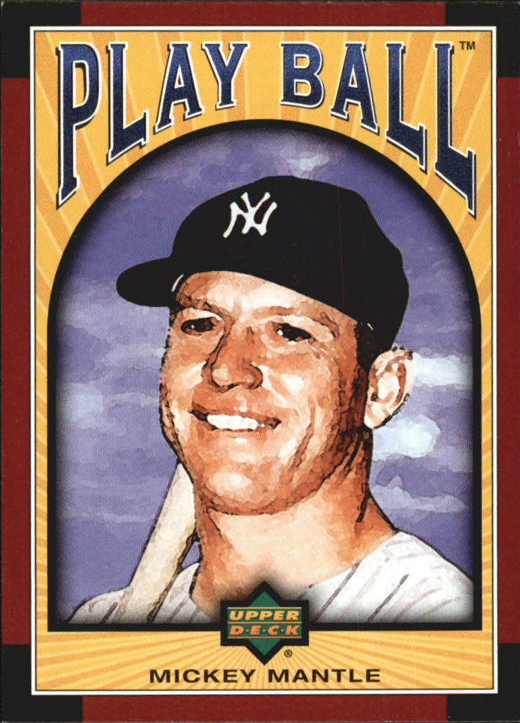 2004 Upper Deck Play Ball #28 Mickey Mantle