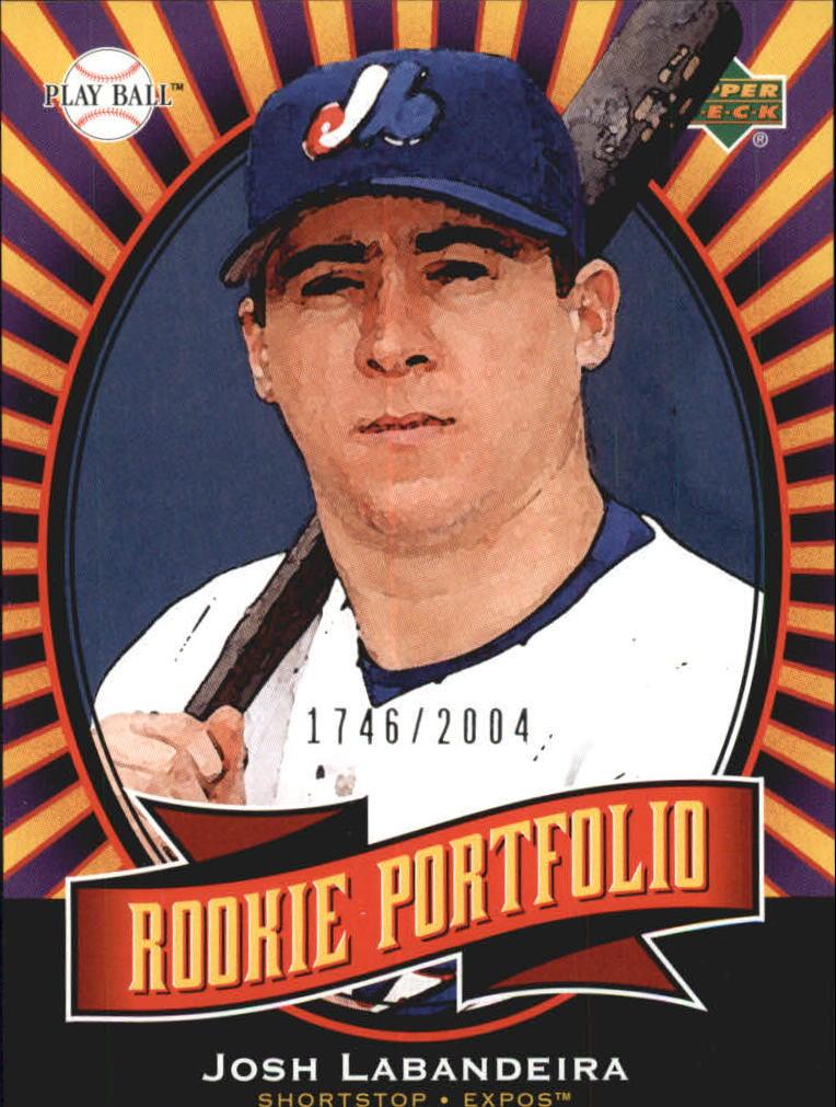 2004 Upper Deck Play Ball #147 Josh Labandeira RP RC