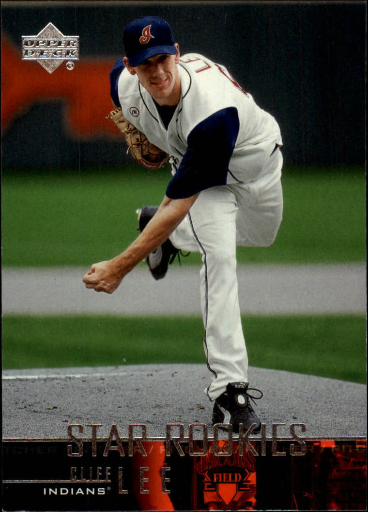 2004 Upper Deck Glossy #15 Cliff Lee SR