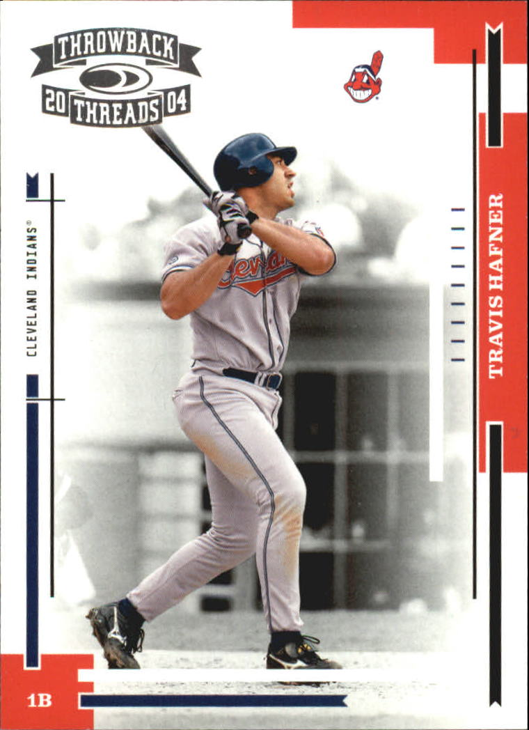 2004 Throwback Threads #62 Travis Hafner