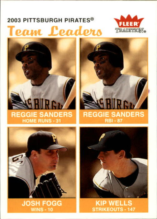 2004 Fleer Tradition #33 Sanders/Fogg/Wells TL