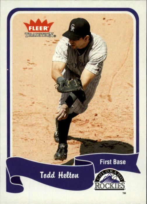 2004 Fleer Tradition #360 Todd Helton