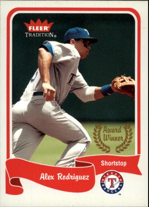2004 Fleer Tradition #465 Alex Rodriguez AW SP