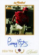 2004 Fleer InScribed Rookie Autographs #100 Casey Kotchman/300 *