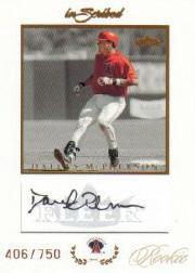 2004 Fleer InScribed Rookie Autographs #DM Dallas McPherson/646 *