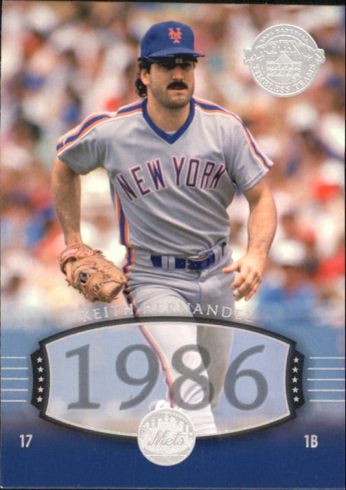 2004 UD Legends Timeless Teams #259 Keith Hernandez 86