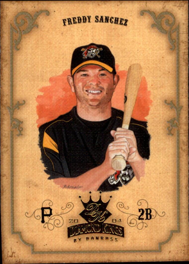 2004 Diamond Kings #133 Freddy Sanchez