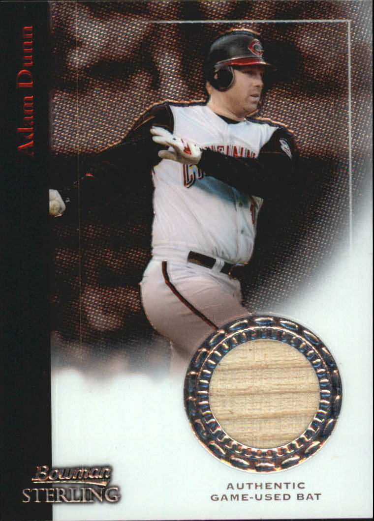 2004 Bowman Sterling #AD Adam Dunn Bat