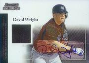 2004 Bowman Sterling #DW David Wright AU Jsy