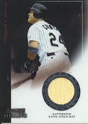 2004 Bowman Sterling #MC Miguel Cabrera Bat