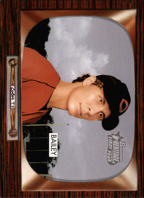 2004 Bowman Heritage #209 Homer Bailey DP RC