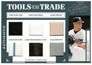 2004 Absolute Memorabilia Tools of the Trade Material Six #74 Josh Beckett/25