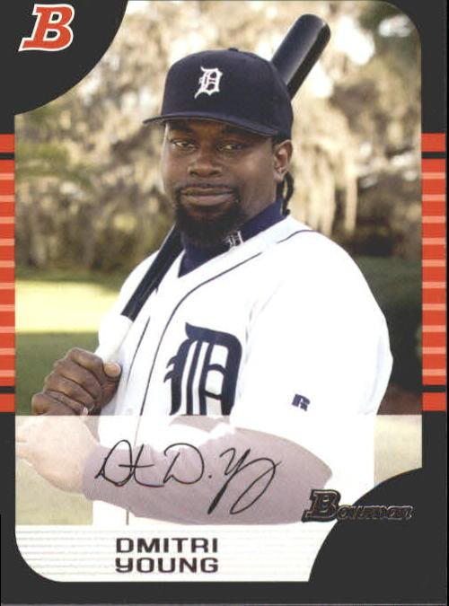 2005 Bowman #4 Dmitri Young