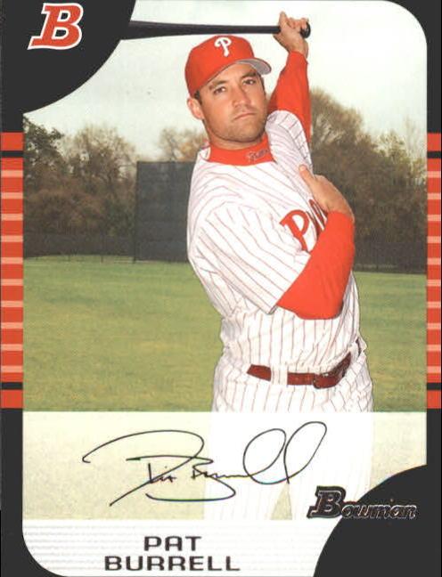 2005 Bowman #8 Pat Burrell