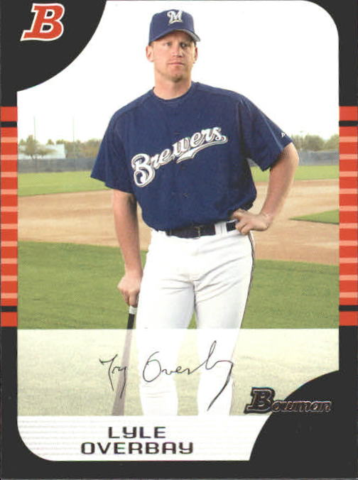 2005 Bowman #13 Lyle Overbay