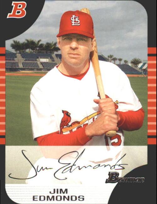 2005 Bowman #14 Jim Edmonds