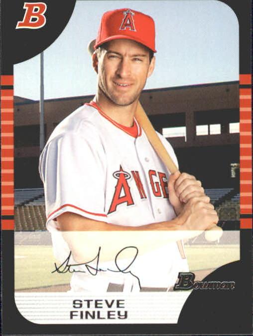 2005 Bowman #15 Steve Finley