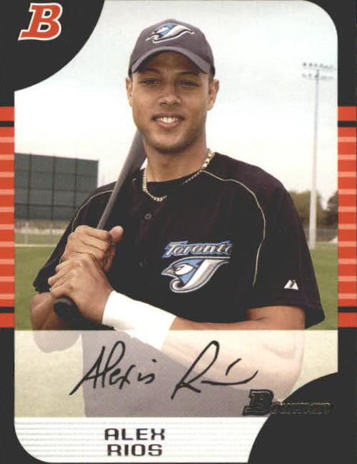 2005 Bowman #44 Alex Rios