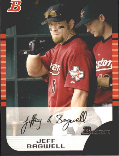 2005 Bowman #47 Jeff Bagwell