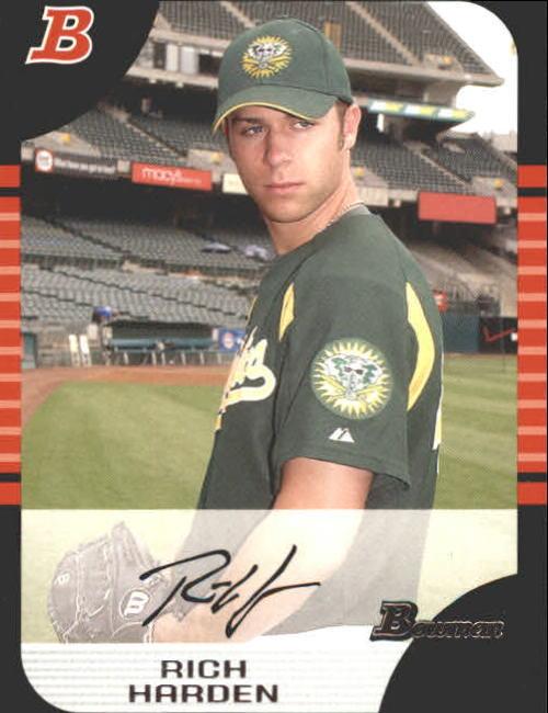 2005 Bowman #57 Rich Harden