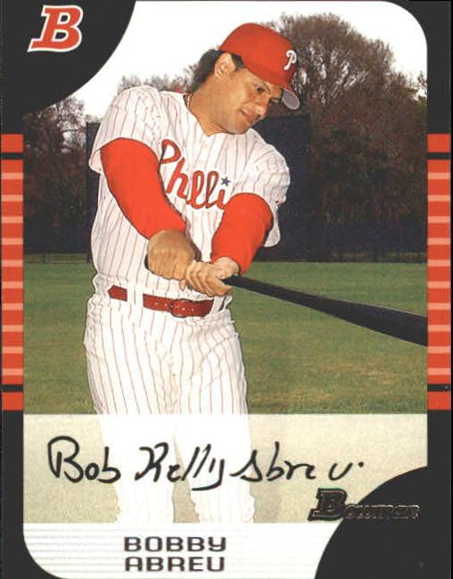 2005 Bowman #58 Bobby Abreu