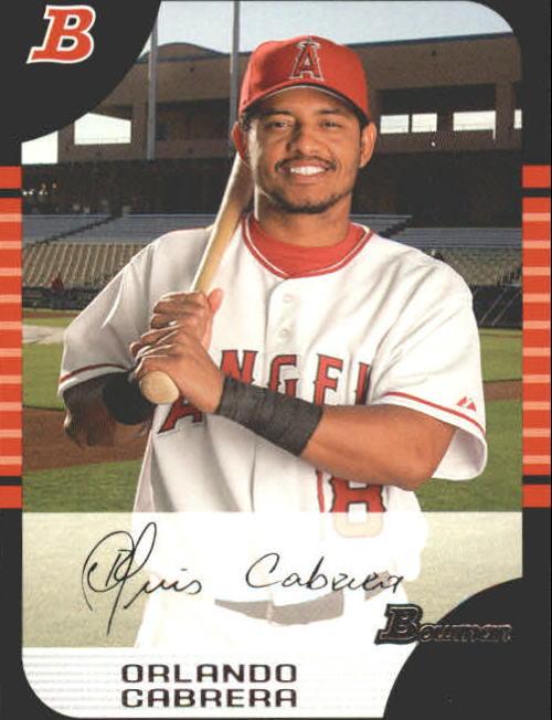 2005 Bowman #64 Orlando Cabrera