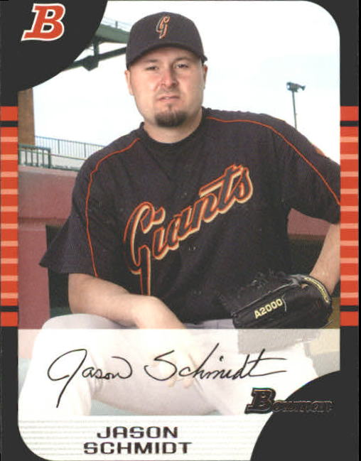 2005 Bowman #72 Jason Schmidt