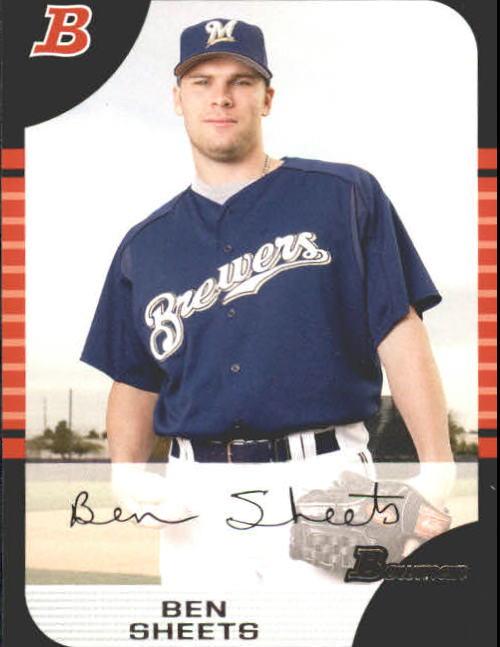 2005 Bowman #88 Ben Sheets