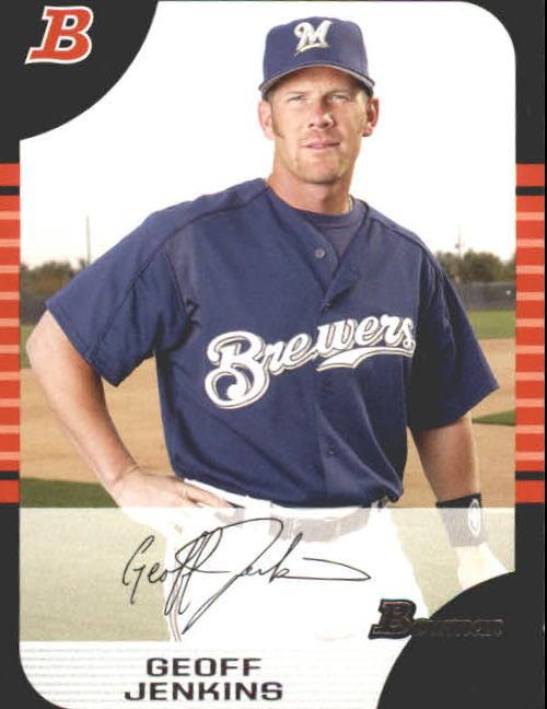 2005 Bowman #96 Geoff Jenkins