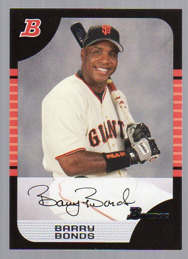 2005 Bowman #100 Barry Bonds