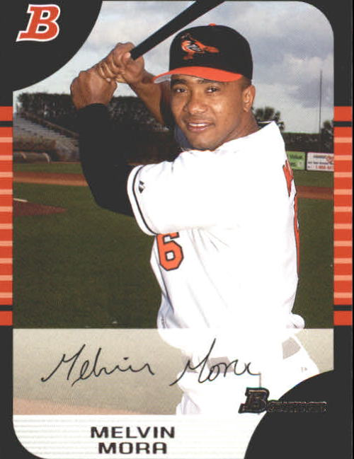 2005 Bowman #104 Melvin Mora