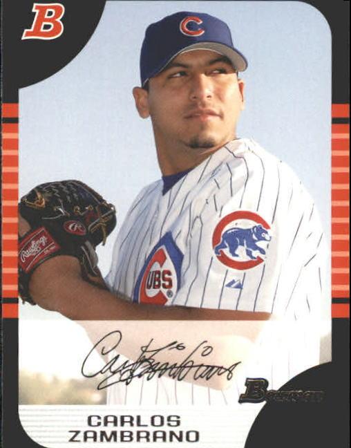 2005 Bowman #109 Carlos Zambrano