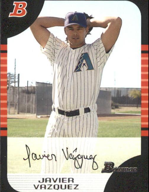 2005 Bowman #111 Javier Vazquez