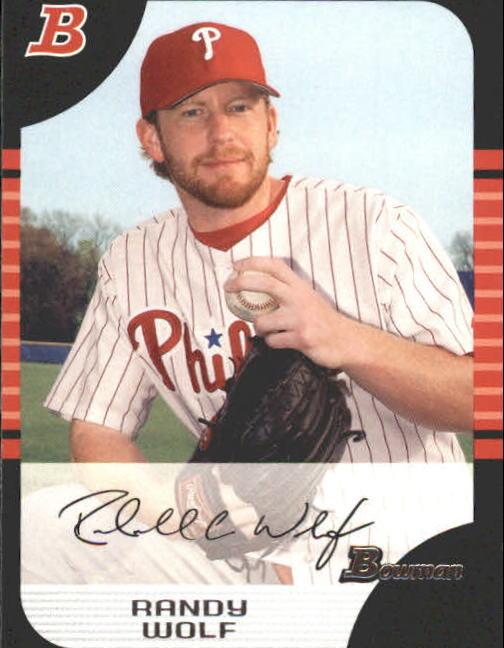 2005 Bowman #112 Randy Wolf