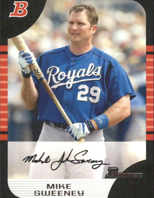 2005 Bowman #126 Mike Sweeney