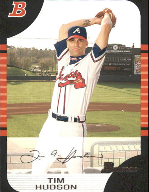 2005 Bowman #128 Tim Hudson