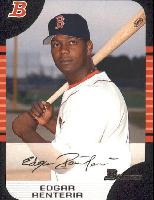 2005 Bowman #133 Edgar Renteria