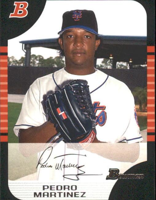 2005 Bowman #138 Pedro Martinez