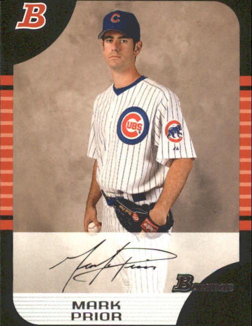2005 Bowman #140 Mark Prior