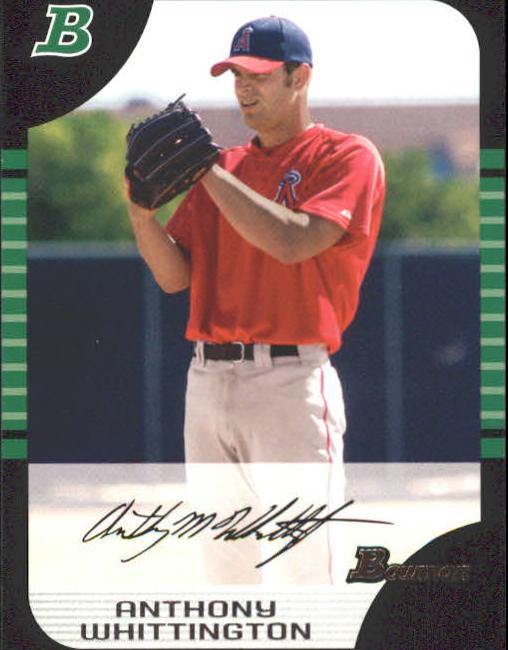 2005 Bowman #155 Anthony Whittington