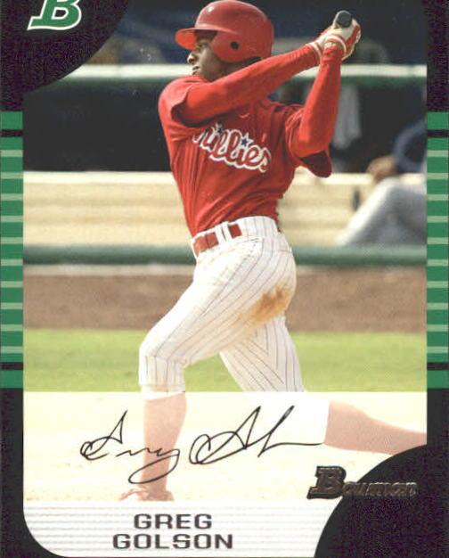 2005 Bowman #161 Greg Golson