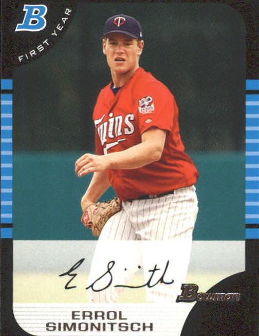2005 Bowman #217 Errol Simonitsch FY RC