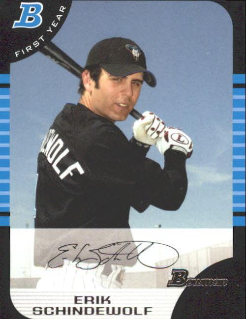 2005 Bowman #270 Erik Schindewolf FY RC