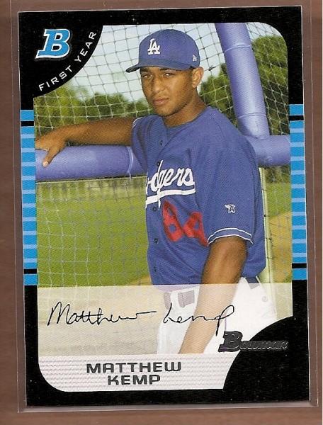2005 Bowman #273 Matthew Kemp FY RC