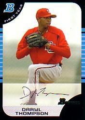 2005 Bowman #323 Daryl Thompson FY RC