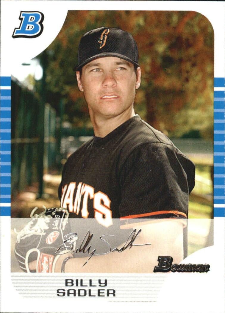 2005 Bowman White #319 Billy Sadler FY