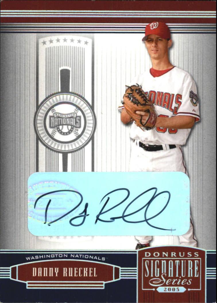 2005 Donruss Signature #148 Danny Rueckel RC