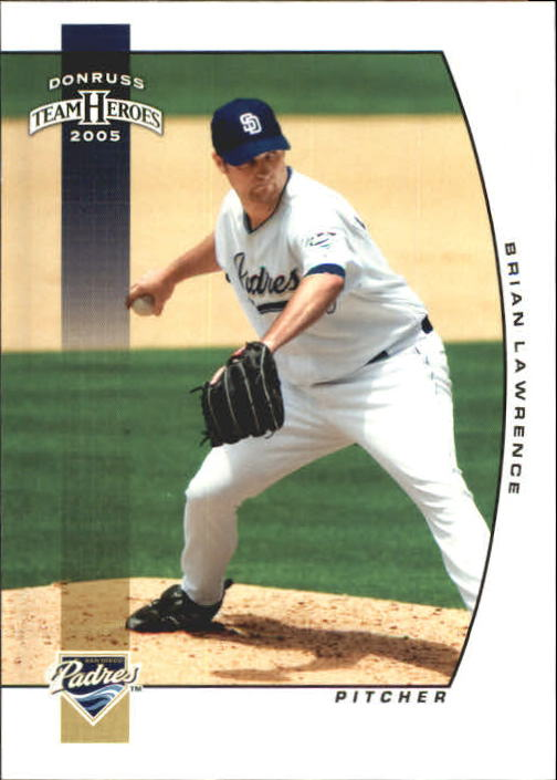 2005 Donruss Team Heroes #259 Brian Lawrence