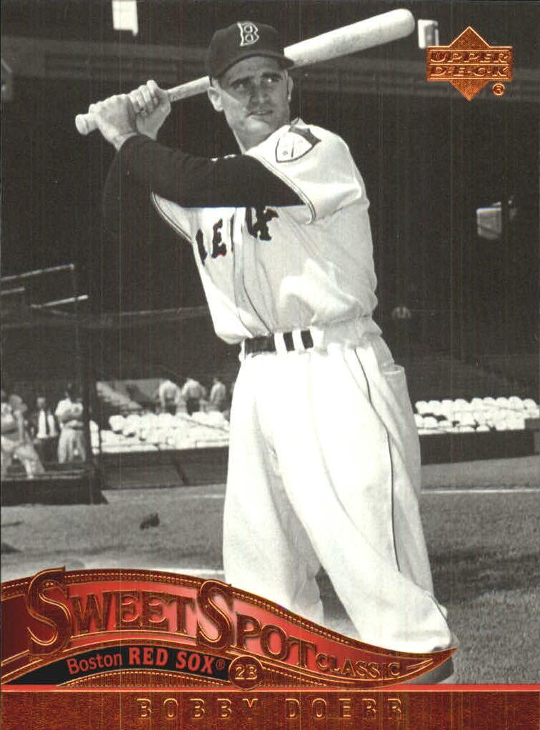 2005 Sweet Spot Classic #8 Bobby Doerr