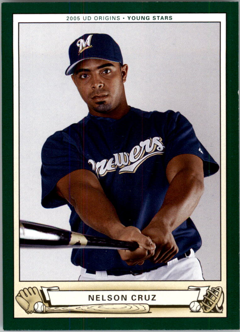 2005 Origins #257 Nelson Cruz YS RC